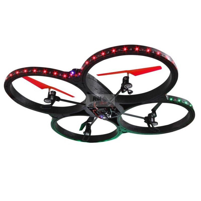 flyscout ahp quadrocopter mit kompass led 135 99. Black Bedroom Furniture Sets. Home Design Ideas