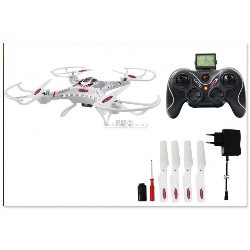 catro ahp quadrocopter mit kamera 109 99. Black Bedroom Furniture Sets. Home Design Ideas