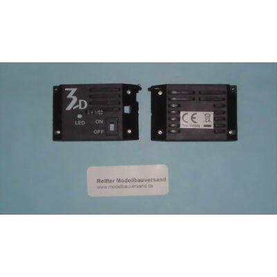 Elektronikabdeckung mit Schalter für Jamara Simply