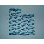 Stoßdämpferfedern X2 BigBore Hart blau