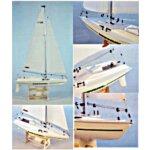 Modell Segelboot Mistral *