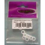 Unterlegscheiben Kunststoff 5,3mm VE 10 -