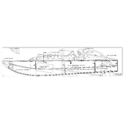 Bauplan Crackbox- Rennboot Cracki 21 - einfach zu bauen !