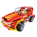 Teknotoys Active Bricks RC 2in1 SUV & Roadster rot...